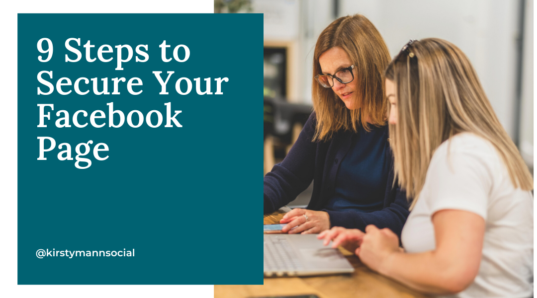 9 Steps to Secure Your Facebook™ Page